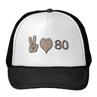 平和愛80 ハット