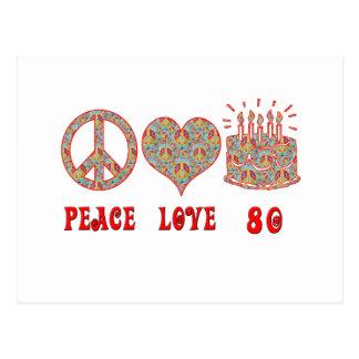 平和愛80 ポストカード