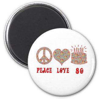 平和愛80 マグネット