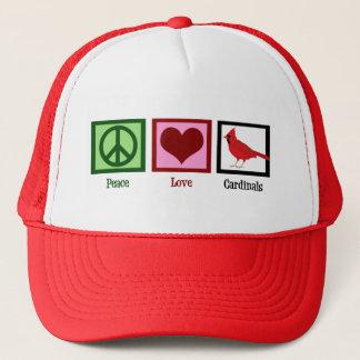平和愛(鳥)ショウジョウコウカンチョウ キャップ