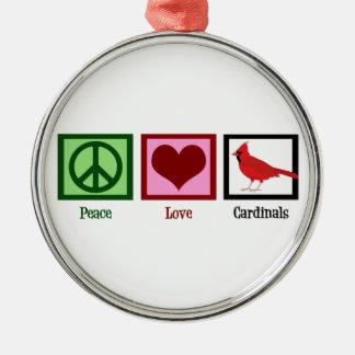 平和愛(鳥)ショウジョウコウカンチョウ メタルオーナメント