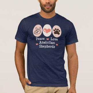 平和愛Anatolian羊飼いのTシャツ Tシャツ