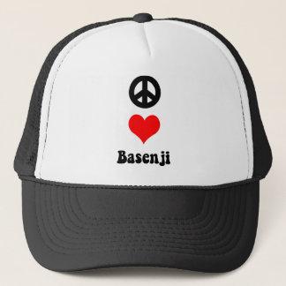 平和愛Basenji キャップ