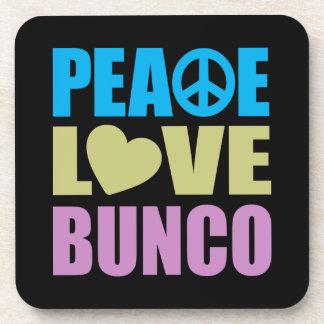 平和愛Bunco コースター