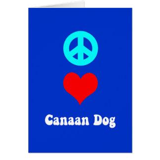 平和愛Canaan グリーティングカード