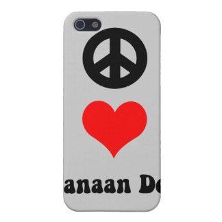 平和愛Canaan iPhone SE/5/5sケース