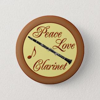 平和愛CLARINET 5.7CM 丸型バッジ