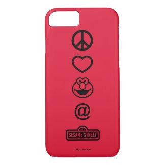平和愛Elmo iPhone 8/7ケース