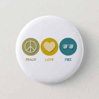 平和愛FBI 5.7CM 丸型バッジ