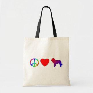平和愛Leonbergers トートバッグ
