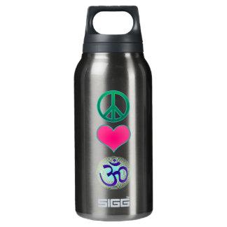 平和愛Omの自由のボトル 断熱ウォーターボトル