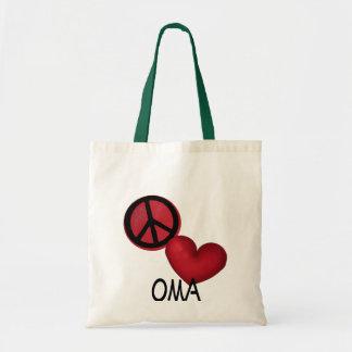 平和愛Oma トートバッグ