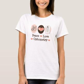 平和愛Optometryの検眼医のタンクトップ Tシャツ