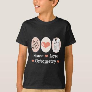 平和愛Optometryの検眼医はTシャツをからかいます Tシャツ
