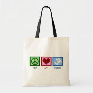 平和愛Origami トートバッグ