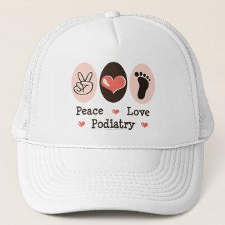 平和愛PodiatryのPodiatristの帽子 キャップ