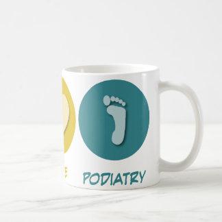 平和愛Podiatry コーヒーマグカップ
