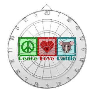 平和愛Rattie ダーツボード