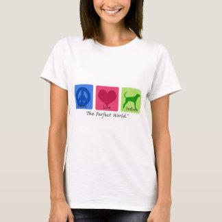 平和愛RedboneのCoonhound Tシャツ