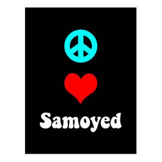 平和愛Samoyed ポストカード