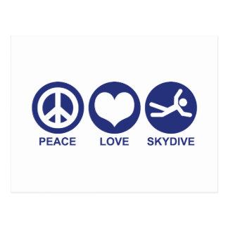 平和愛Skydive ポストカード