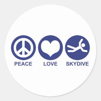 平和愛Skydive ラウンドシール