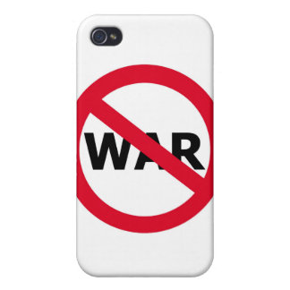 平和戦争無し iPhone 4 カバー