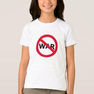 平和戦争無し Tシャツ