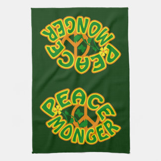 平和提唱者のカスタムな台所タオル キッチンタオル