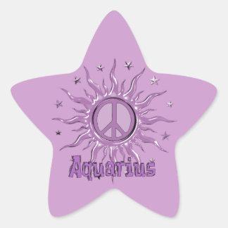 平和日曜日のアクエリアス 星シール