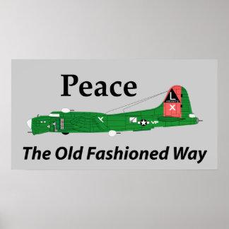 平和旧式の方法 ポスター