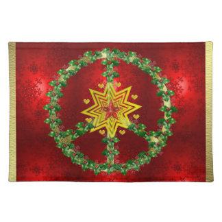 平和星のクリスマス ランチョンマット
