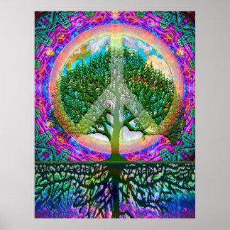平和生命の樹 ポスター