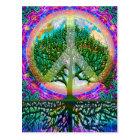 平和生命の樹 ポストカード