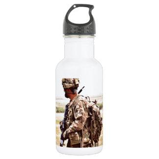 平和監視Patrouilleの兵士 ウォーターボトル