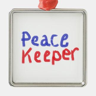 平和看守の商品 メタルオーナメント