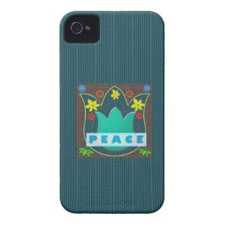 平和社会の国家の芸術的なギフトのAmbassdor Case-Mate iPhone 4 ケース