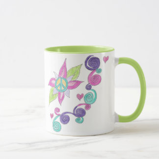 平和花 マグカップ