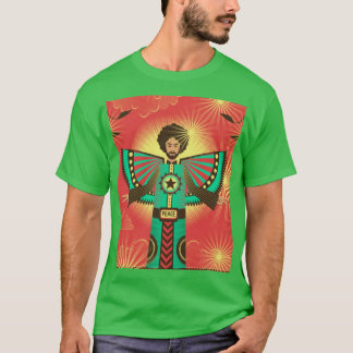平和輝やきのワイシャツ Tシャツ