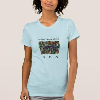 平和部隊のアフリカのお母さんW. TShirt Artwork Tシャツ