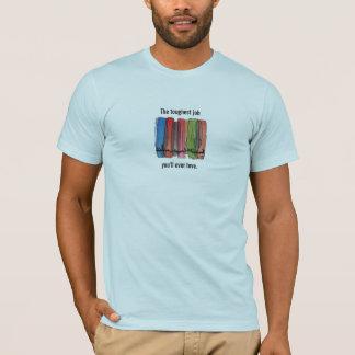 平和部隊の最も堅い仕事のワイシャツ Tシャツ