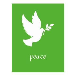 平和鳩の郵便はがき ポストカード