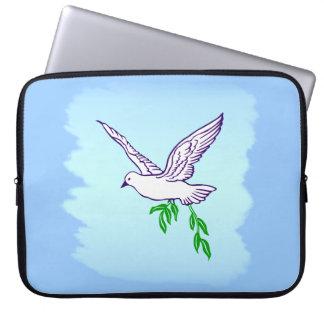平和鳩の電子工学のバッグ ラップトップスリーブ
