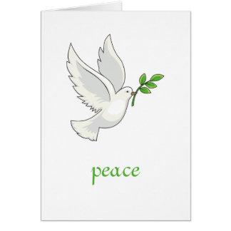 平和鳩カード カード