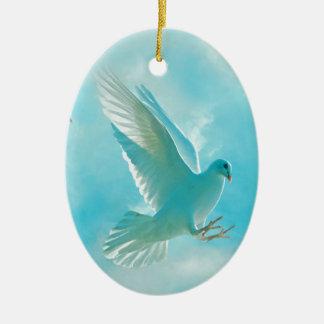 平和鳩 セラミックオーナメント