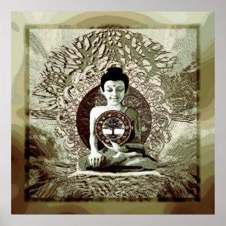 平和黙想の世界の宗教 ポスター