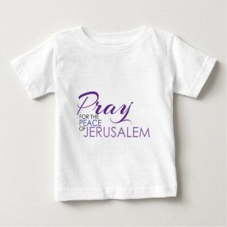 平和01.pngのために祈って下さい ベビーTシャツ