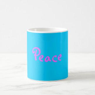 平和 コーヒーマグカップ