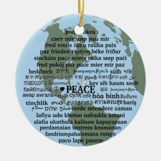 平和 セラミックオーナメント