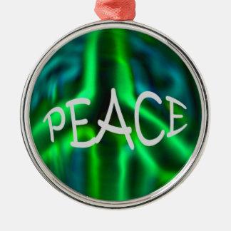 平和 メタルオーナメント